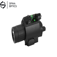 SPINA OPTICS 2in1 Combo Tactical Q5 LED FlashlightFor pistol