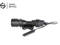 SPINA OPTICS M951-LED outdoor hunting tactical flashlight + tail /black
