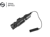 SPINA OPTICS M952V -LED outdoor hunting tactical flashlight + tail /black