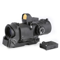 SPINA OPTICS Tctical Scope 1-4x32F+HD400 Optic sight Hunting airsoft rifle Scope