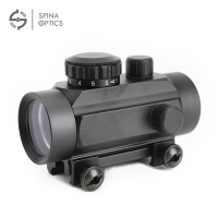 SPINA OPTICS W-1X30 Red Green Dot Sight Hunting Scope