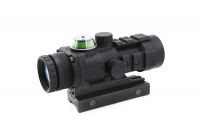 SPINA OPTICS 3 X 32 fiber prism Green illumination aiming at Riflescope belt ballistic Cross Line