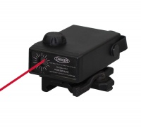 SPINA OPTICS Tactical Red Green Laser Sight with Quick Detach Adjustable Laser Pointer