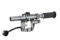 SPINA OPTICS 3-9x24 SVD First Focal Plane FFP Rangefinding Reticle Rifle Scope with QD mount