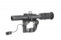 SPINA OPTICS  4x24 PSO-1 Type Riflescope for Dragonov SVD Sniper Rifle Series AK Rifle Scope