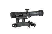 SPINA OPTICS SVD 4x20 Red Rifle Scope Optical Sight