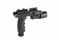 SPINA OPTICS M900-LED  White Light Grips The Flashlight