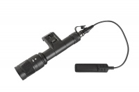 SPINA OPTICS IFM M600V LED Outdoor Tactical Flashlight with Rat Tail Switch