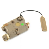 SPINA OPTICS AN-PEQ-15 Upgraded Version of LED White + Green Laser Counter DE TB0069