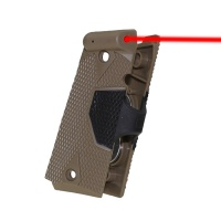 SPINA Outdoor Hunting Accessories 1911 Handle grip back Tactical Red Dot Laser Sight For Handgun