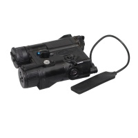 SPINA OPTICS  PEQ EX176 Shotgun Red Dot Laser Pointer LED Gun Lasers Light Battery Case For Hunting