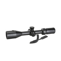 SPINA OPTICS New Tactical 3-9x42 LE Rifle Scope with Red Laser Optical Sight Riflescopes Hunting