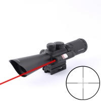 SPINA OPTICS Riflescope 3.5-10X40MM Red Dot Sight Rifle Scope