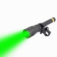 SPINA OPTICS Green Laser Genetics ND3x40 Long Distance Laser Designator Pointer with Ring Mount