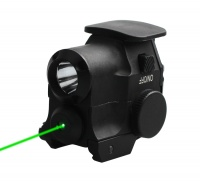 Spina Optics Green Dot Laser Flashlight 532nm Wavelength Tactical Fit For 21mm Weaver Picatinny Rail