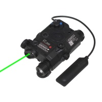 SPINA OPTICS Tactical Red Dot Light LED FLashlight Weapon Lights Ex419 Double Remote Control Switch
