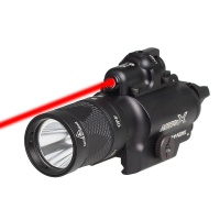 SPINA OPTICS Weapon Lights Red Laser X400V LED Flashlight Constant Strobe With 500 Lumens