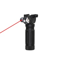 SPINA OPTICS Tactical Red Dot hand grip Green laser flashlight grip one strong light tube