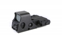 SPINA OPTICS 20mm Dovetail Holographic Sight 5 52 .5 53 Reflex Scope with Red Laser IR