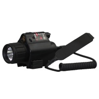 SPINA OPTICS  LED 2 in 1 Tactical Combo For Flashlight  and Red Laser Sight M6