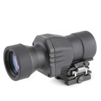 SPINA OPTICS 4x32L Range Sight QD Flip-to-Side Magnifier Scope for Better Peripheral Vision