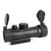 SPINA OPTICS 2x42 Red and Green Dot Reflexible Rifle Scope 2 Times Magnification Sight