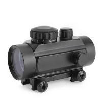 SPINA OPTICS W-1X35 20mm Rail Red and Green Dot Scope Sight With Weaver Mount Shock Proof MAX