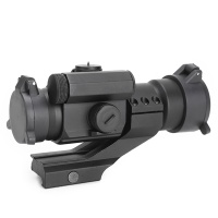 SPINA OPTICS M2 1X30 Red Green Dot Riflescope Sight Scope with 20mm Rails for Hunting