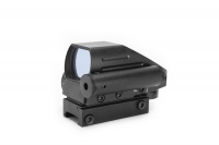 SPINA OPTICS 1x22x33 Red Green Dot Scope Sight with Red Laser Sight Combo HD 103B