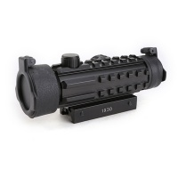 SPINA OPTICS 1X30 Red Dot Scope with Rail For Rifle Scope