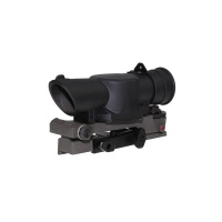SPINA OPTICS L85 SUSAT Type Tactical 4X Sight Rifle Shotgun Scope w/ Quick Detach weaverer Mount