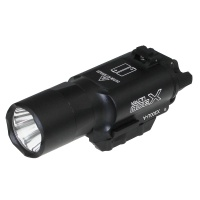 SPINA OPTICS X300  Flashlight X300U 500 Lumens High Output Fit 20mm Picatinny Weaver Rail