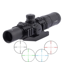 SPINA OPTICS Tactical Recon Monocular Telescope Scope 1.5-4X30 Mil-dot Sight Hunt Rifle Scope