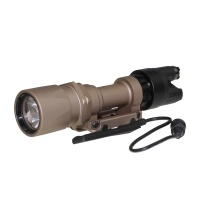 SPINA OPTICS 951-LED Wgite Light Tactical Flashlight Sand