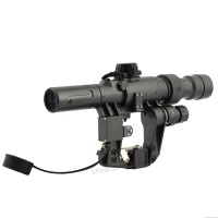 SPINA OPTICS Dragunov 3-9x24 SVD First Focal Plane Fit AK 47 red Illuminated Sight Rifle Scope