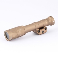 SPINA M600V LED 366 Lumen Tactical Rifle Flashlight Airsoft M600 Series EX072
