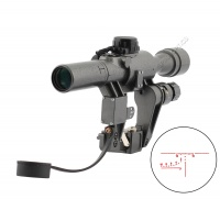 SPINA OPTICS 4X24-1 Rifle Scope Hunting Weapon Sight Wholesale Airsoft Rifle Sight
