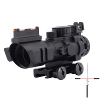 SPINA OPTICS 4x32 ACOG Riflescope 20mm  Optics Scope Gun Rifle Airsoft Sniper Magnifier Airsoft