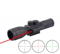 3.5-10X40 AO RED & GREEN ILLUMINATED COMPACT GOOD QUALITY RIFLESCOPE NIGHT VISION