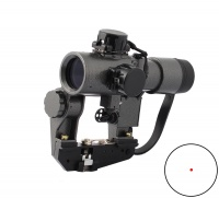 SPINA OPTICS Recoil Resistant Svd Red dot scope SVD 1x30 Scope for hunting