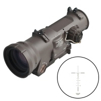 DR 1.5-6x double character hunting rifle mirror optical sight with ARMS integrated Picatinny optical
