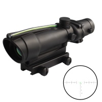 SPINA 3.5 x 35 optical physical sight with red green horseshoe marking tactical optical sight