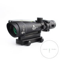 ACOG 3.5 x 35 optical sight with red green arrow shaped tactical optical sight