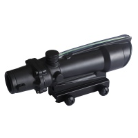 Spinaoptics 5x35 tactics ACOG fiber range illumination line sight