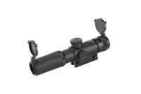 SPINA OPTICS 4x21 AO Optical Sight 1/4MOA Fogproof Glass Etched Reticle Riflescope