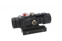 SPINA OPTICS aiming mirror 3 X 32 fiber prism red illumination aiming at Riflescope