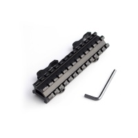 Detachable quick lift tactical assembly 20mm quick release double weaver Picatinny Rail Mount