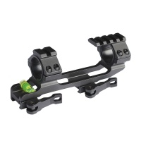 New 30mm / 25.4mm scope ring, QD mounting base with Spirit spirit level