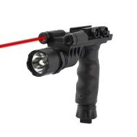 SPINA OPTICS  strong flashlight grip 20mm clasp kam Ming 8 generation accessory black bull AR