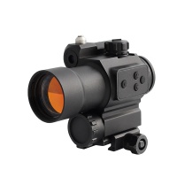 Optics Rifle Scope Red Dot Sight compact with red laser Scope Shockproof and waterproof For Hunting